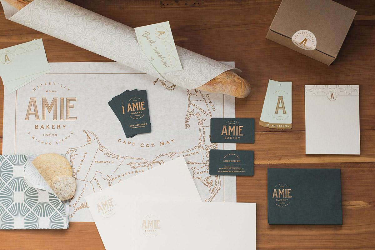Amie Bakery Brand Creative