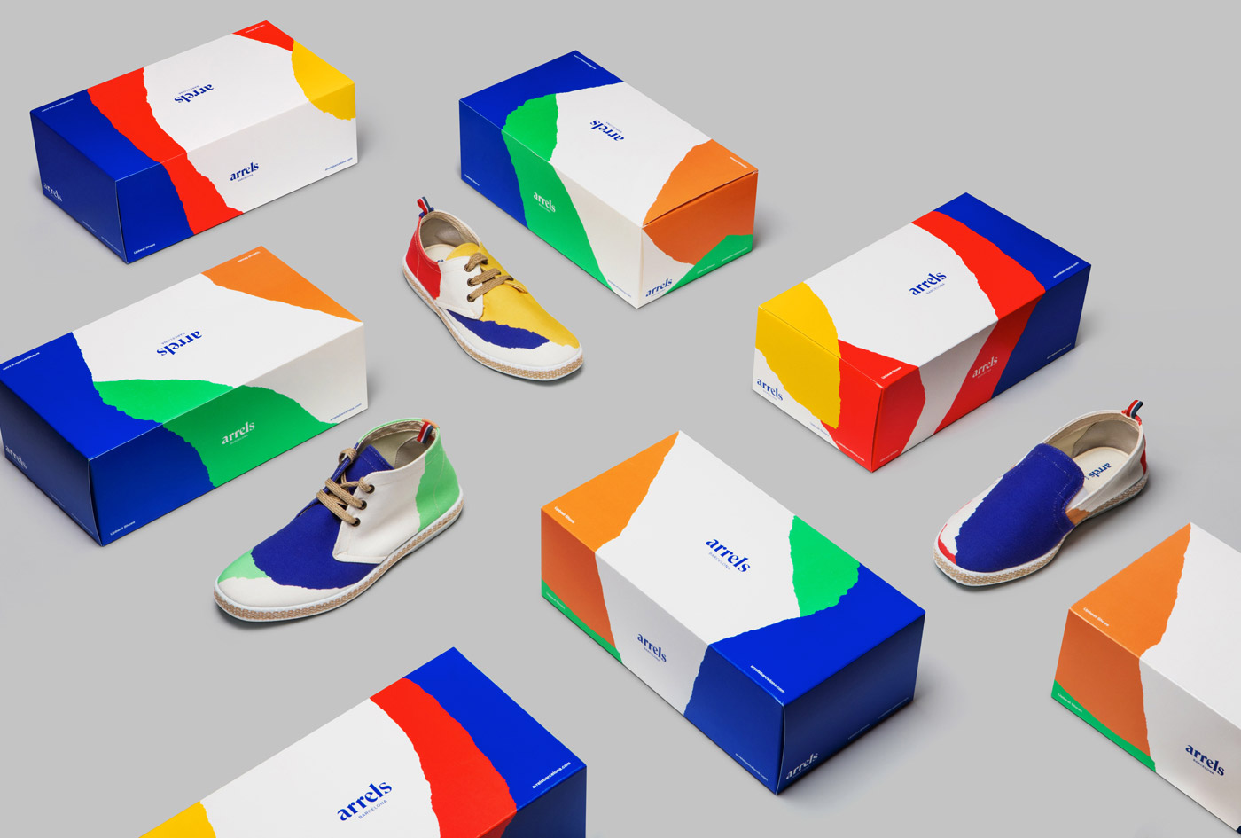arrels barcelona shoeboxes