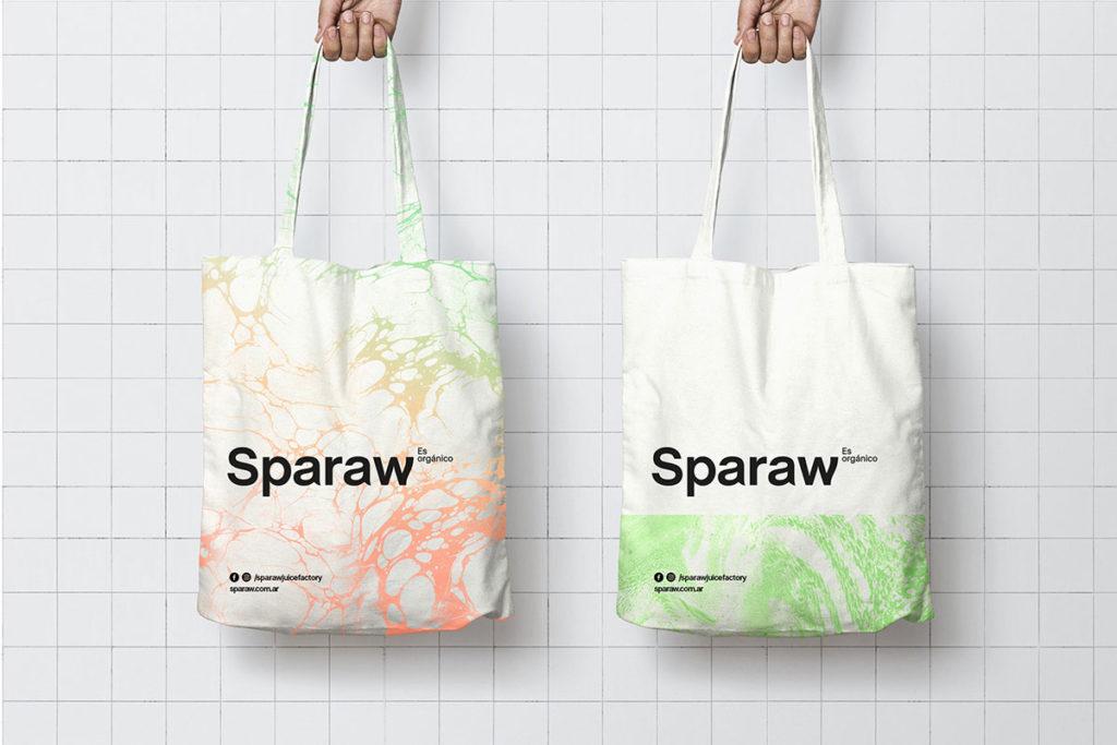 Sparaw branding